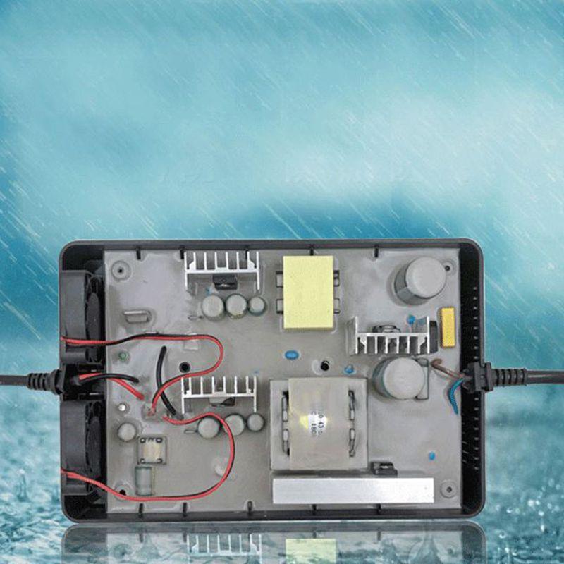Nouveauté AC-DC étanche 29 V 10A 9A 8A 7A chargeur de batterie au plomb pour batterie 24 V