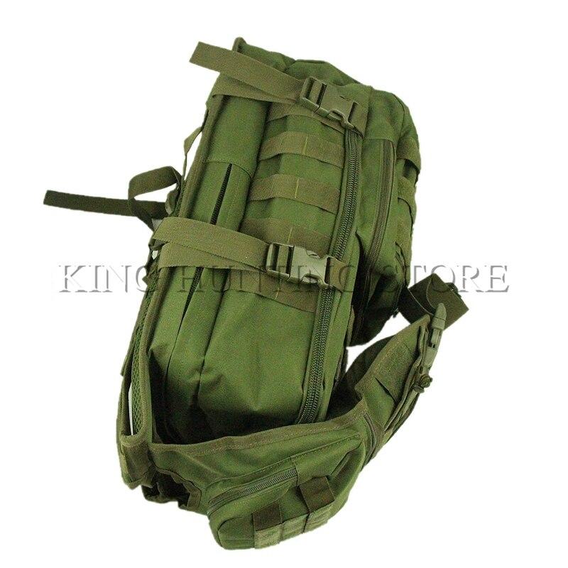 Ourdoor hommes imperméable Molle Trekking sac militaire 3 P tactique sac à dos femmes assaut Cordura sac de chasse sac - 5