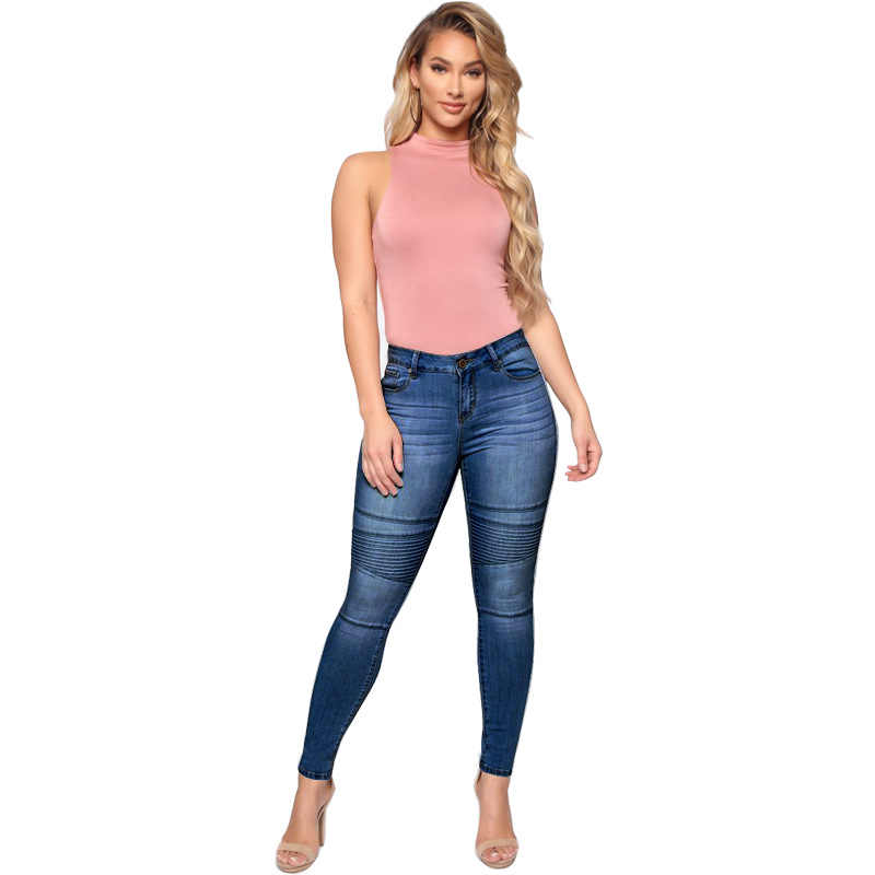 New Hot Sale Women S Trousers Mid Waist Women S Jeans Striped Slim Fit Women S Trousers Casual Feet Pants Women S Pencil Pants Jeans Aliexpress Next day delivery & free returns available. new hot sale women s trousers mid waist women s jeans striped slim fit women s trousers casual feet pants women s pencil pants