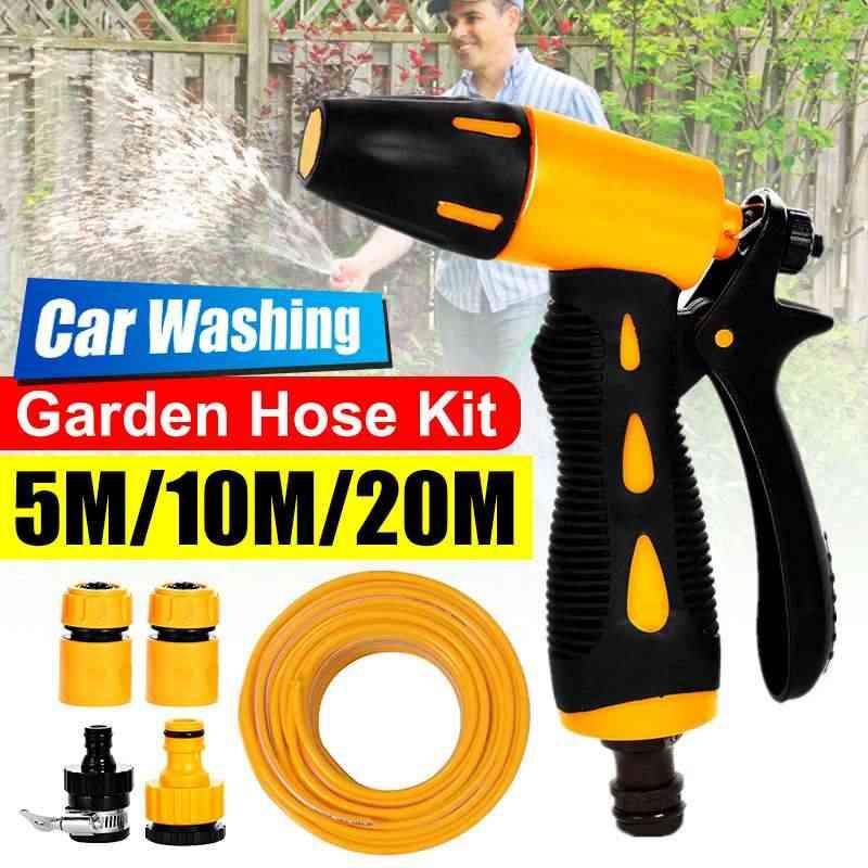 Auto Wasmachine Guns Pomp Hogedrukreiniger Car Care Draagbare Wasmachine Elektrische Cleaning Auto Apparaat Tuin Water Guns