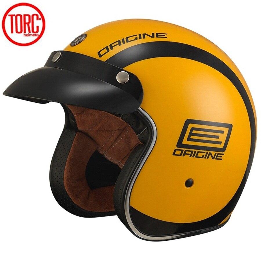 Бесплатная доставка 1шт 3/4 открытым лицом старинные шлем Встроенный откидной козырек Харли точка мотоциклетный шлем
