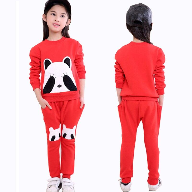 Winter Warme Kinder Mädchen Kleidung Sets für Mädchen Baumwolle - Kinderkleidung
