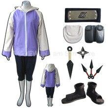 Naruto Hyuga Hinata Cosplay Costume Full Set