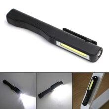 Hot Selling Mini Pen COB LED Flashlight Multifunction led Torch light Magnetic Working Inspection Lamp Pocket Light 2-Mode AAA