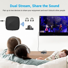 3.5mm Wireless Bluetooth 4.2 Transmitter and Receiver AUX Audio Adapter For Home TV Car
