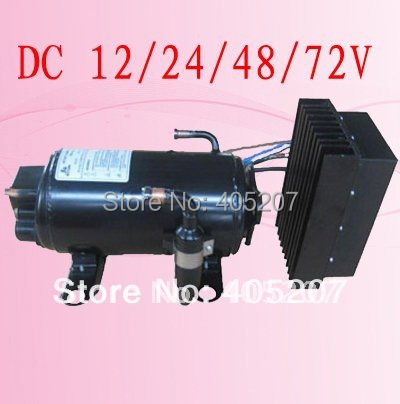 Brushless dc24v electric air condition compressor for truck lorry train trail cabin portable air condintioner 16 l min electric diaphragm dc mini brushless compressor for vacuum or air