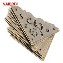 10 шт бронзовые Защитные уголки для шкатулки ювелирных изделий