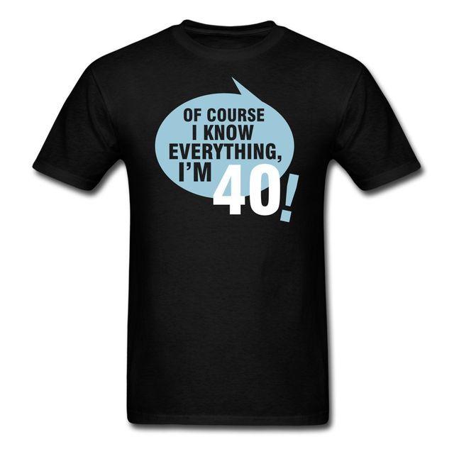 citaten 40 jaar Nieuwe T Shirt Mannen Mode T shirts Verjaardag 40 Jaar Citaat  citaten 40 jaar