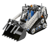 LELE Technic 2 IN 1 Compact Tracked Loader Building Blocks kit Bricks set classic City Model Kids Toy Marvel Compatible Legoings