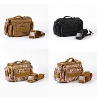 Fly Fishing Tackle Bag Waterproof Storage Waist Shoulder Carry Case Outdoor Trekking Sport Travel Rucksacks Camping