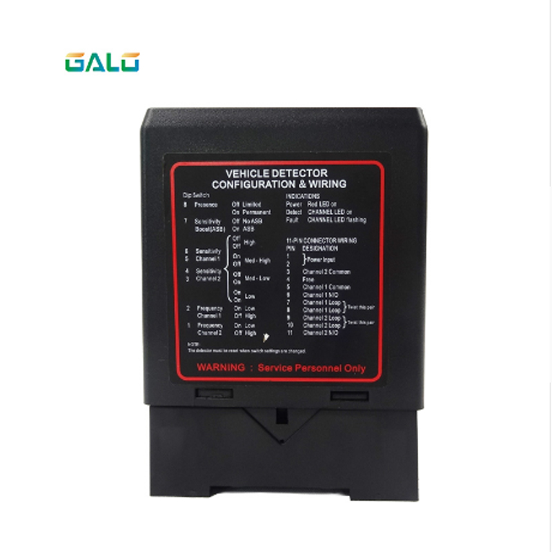 Gate PD232 Dual-channel Induction Vehicle Circuit Detector For Electric Gate Parking System For Access Gates