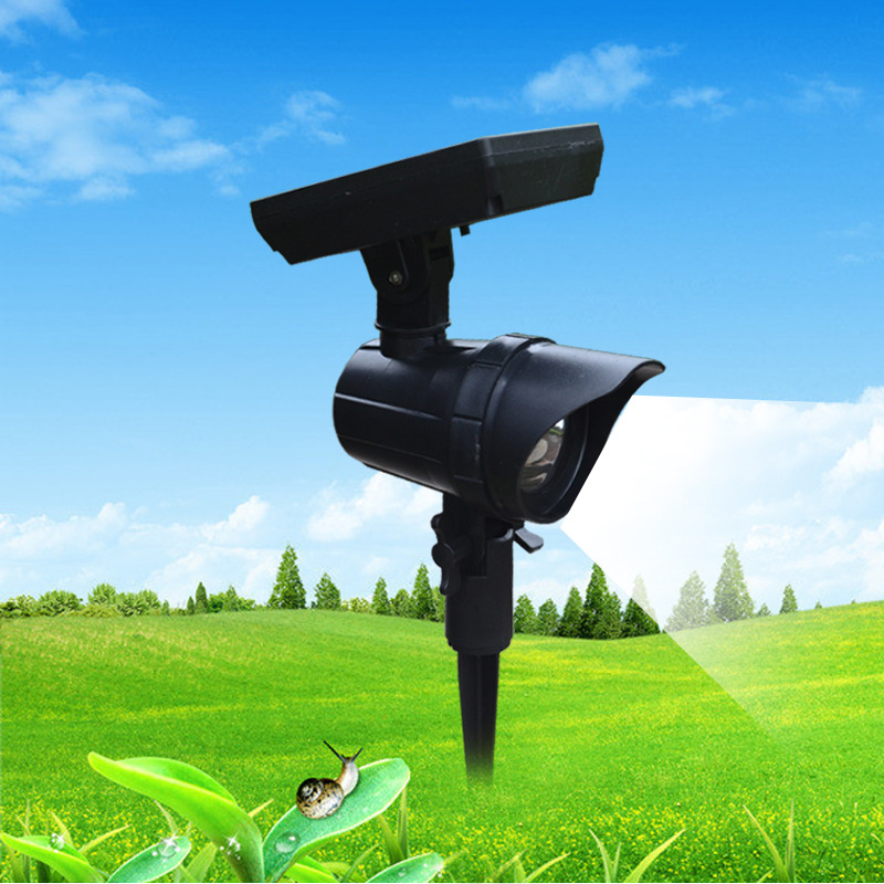 Solar Powered Super Bright LED Landscape Path Spotlight Lawn Light Garden Yard outdoor lighting waterproof solar lamp lights outdoor light solar energy lamp outdoor led home landscape lights lawn lamp light indoor waterproof super bright solar light