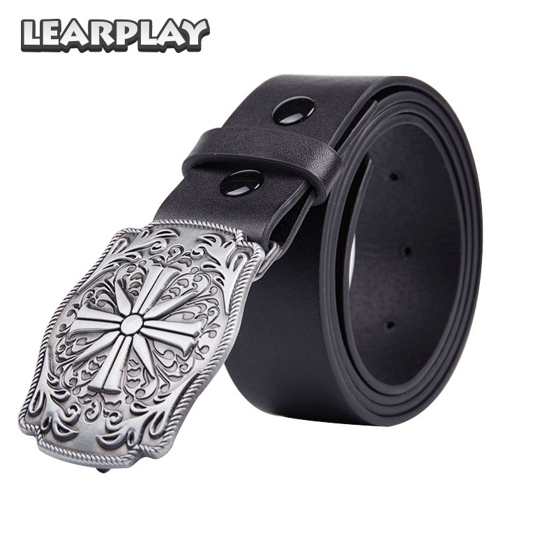 Learplay Game Far Cry 5 Father's Belt And Buckle Joseph Seed Cosplay Buckles Costume Accessories For Men Adults Women Party Gear