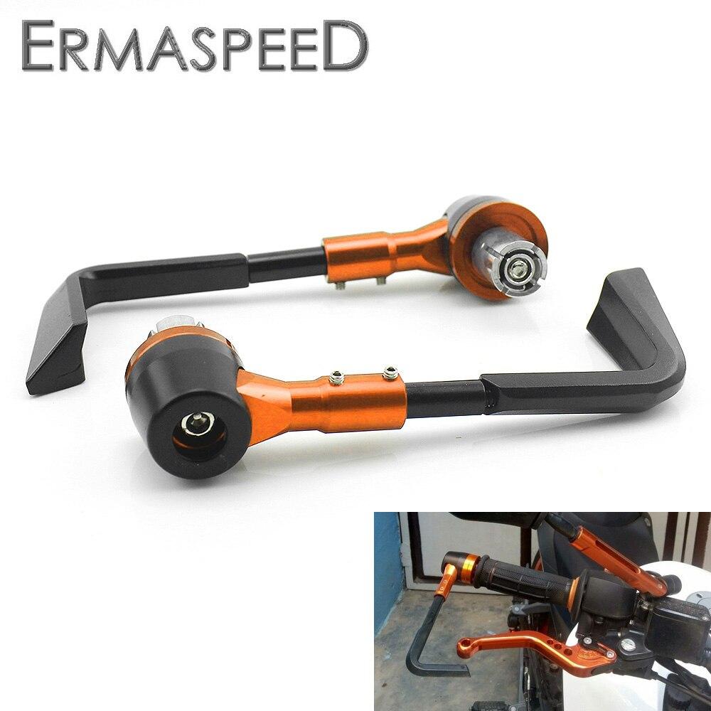 Pair Motorcycle Handguards Aluminum Hand Brush Guard 2pcs 7//8 Inches 22mm black