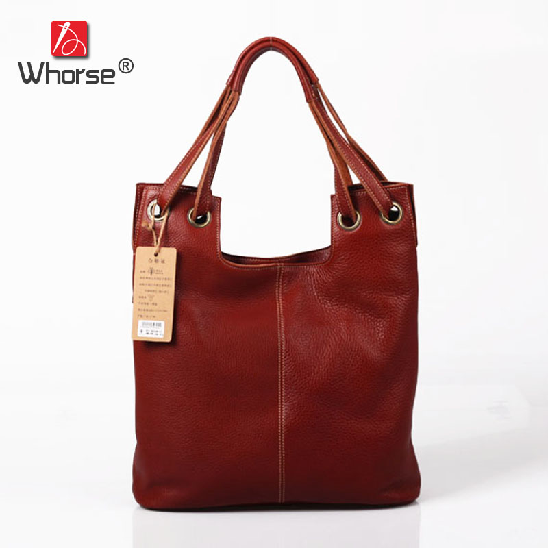 Vintage Casual Designer Handbag Real Cowhide Womens Handbags Hobo Bag Genuine Cow Leather Shoulder Bags For Women Tote W092308 top quality handmade vintage casual bag genuine leather womens real cowhide designer handbag messenger bags for women w092544