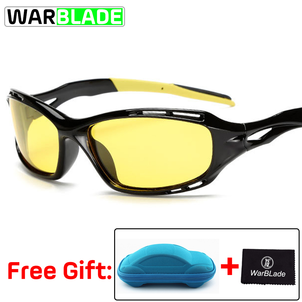 ca085eca25a Detail Feedback Questions about Night Vision Glasses Mens Women Outdoor Sports  Goggles Biking Driving Riding Motorcycle Sunglasses Gafas Ciclismo with box  ...