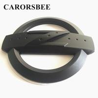 CARORSBEE 3D Metal Emblem Badge Black Z Logo Decal Auto Tail Trunk Car Stickers For Nissan