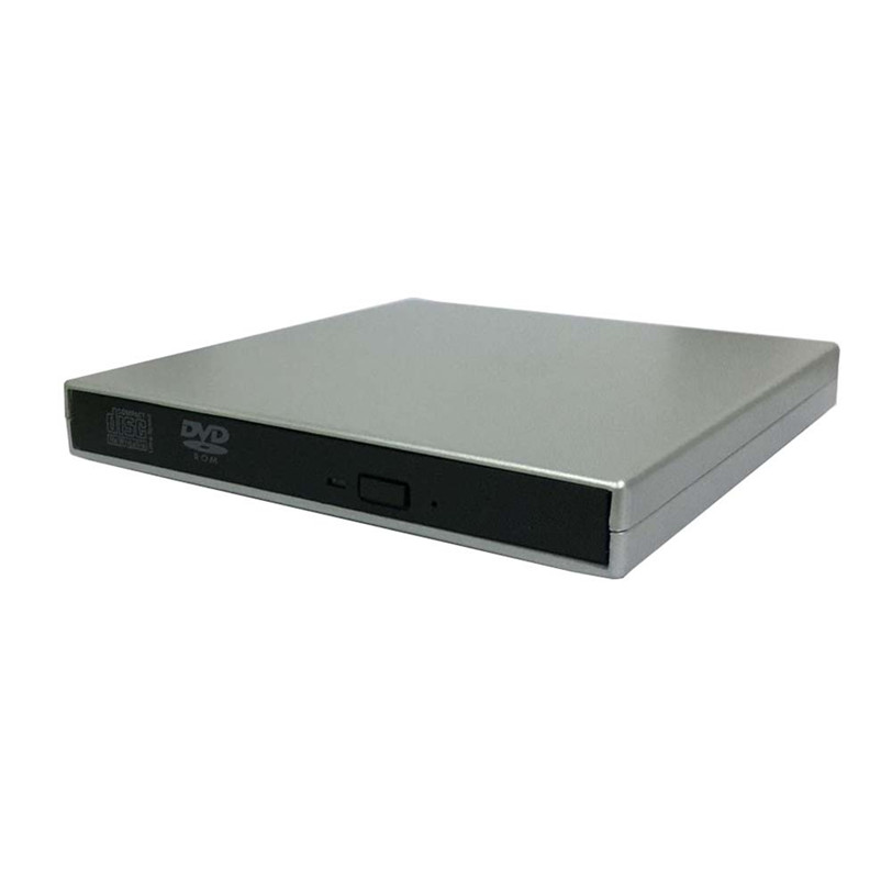 USB IDE Laptop Notebook CD DVD RW Burner ROM Drive External Case Enclosure Dect5 Professional Drop Shipping