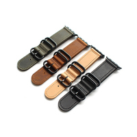 MERJUST Genuine Leather strap For Apple Watch band 44mm 42mm 40mm38mm Crazy horse Iwatch series 1 2 3 4 wristband strap bracelet