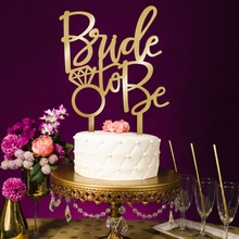 Sweet Bride To be Cake Topper Cupcake Wedding Engagement Bridal Party Decoration cupcake display