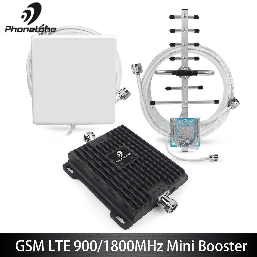 Amplificateur GSM GSM 900 4G LTE 1800 répéteur double bande amplificateur de Signal GSM répéteur amplificateur cellulaire amplificateur de Signal Mobile 65dB