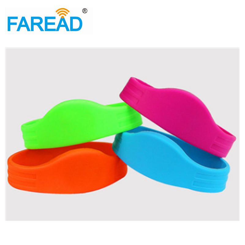 Free Shipping RFID Wristband  125khz TK4100 For Ticket System And Harsh Environment  100pcs/lot