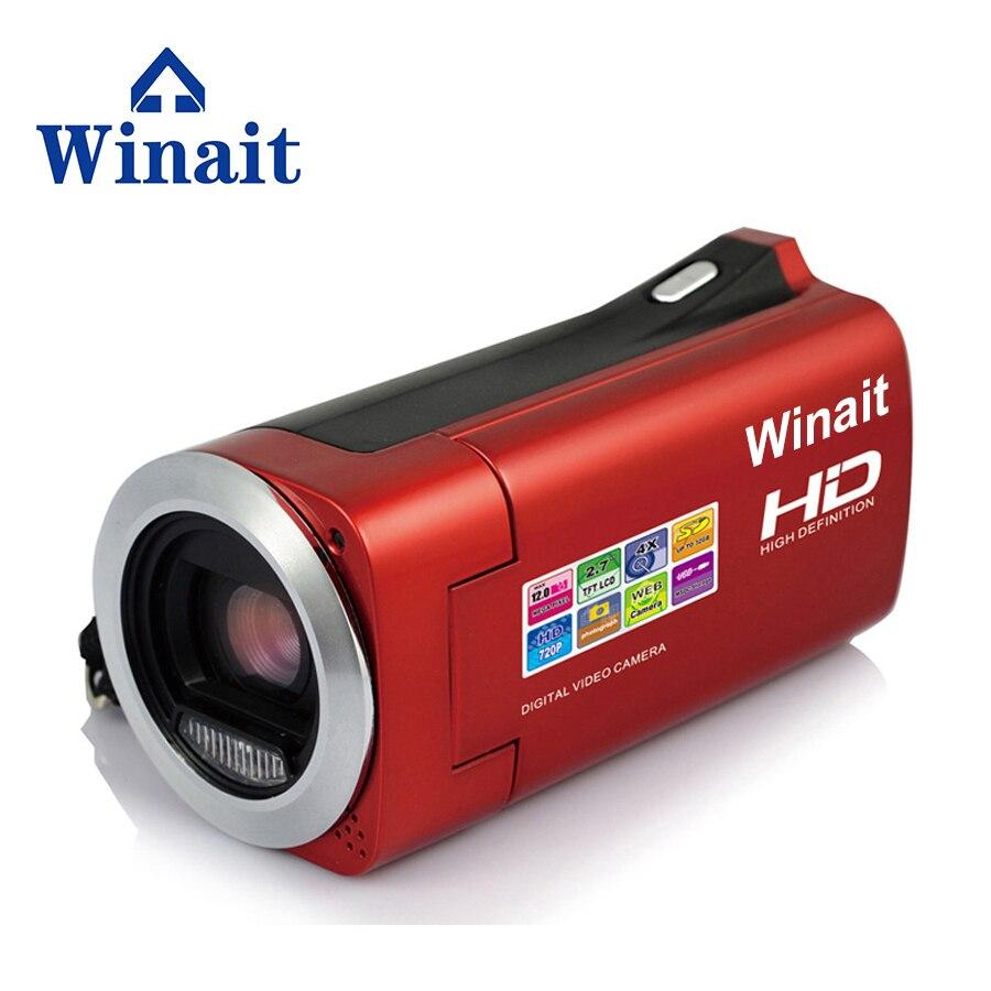 Caméra vidéo numérique HDV-828 prenant en charge l'obturateur électronique wifi 2.7 ''TFT