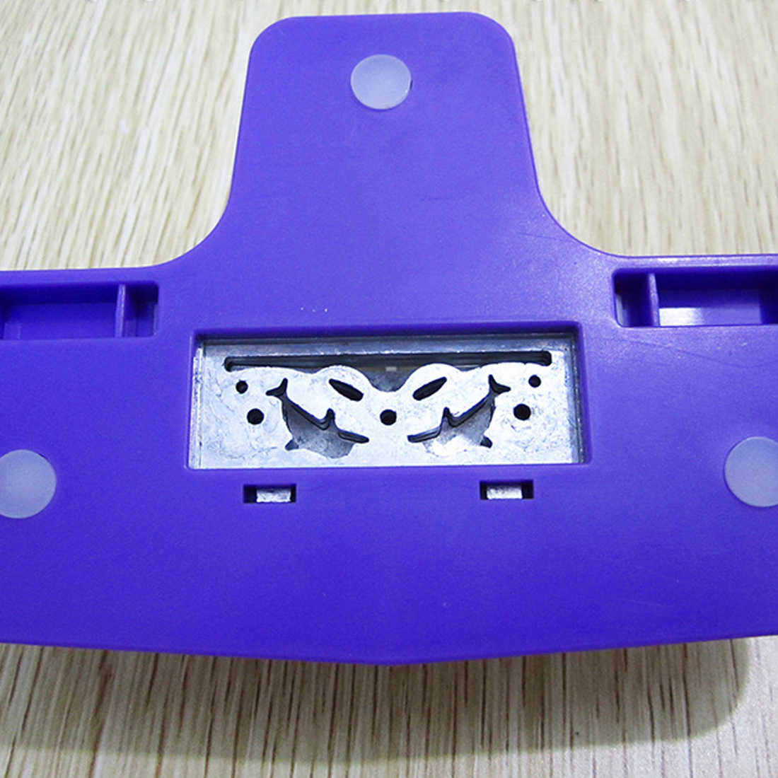 Punch scrapbooking handmade EDGE อุปกรณ์ DIY เครื่องตัดกระดาษ CRAFT Handmade ใหม่แฟนซีชายแดน Punch S ดอกไม้ลายนูน