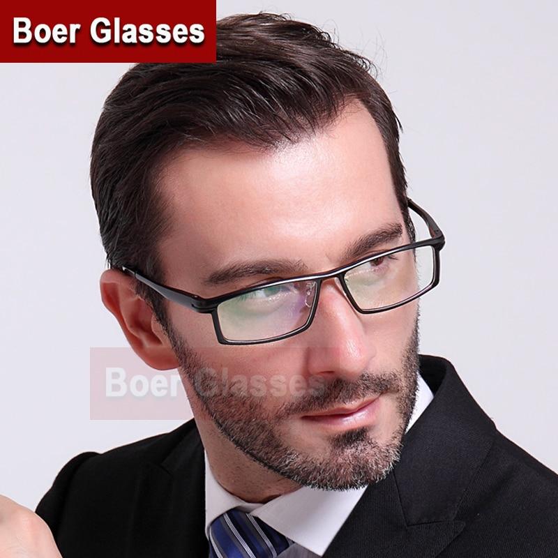 Aluminum Eyeglasses Men Frames Full Rim Glasses Myopia Spectacle Optical Prescription Frames 262(56-16-142)