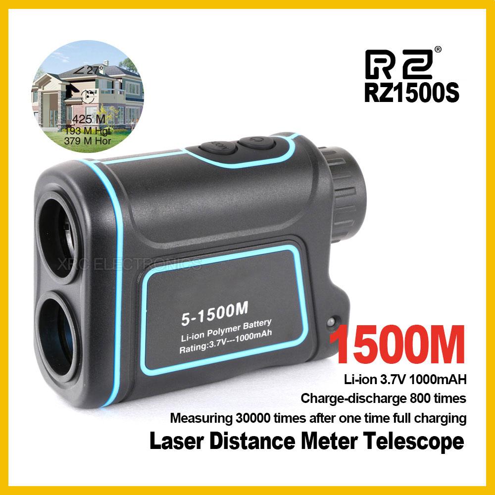 RZ 900m 1200m 1500m golf laser rangefinder range finder roulette distance meter telescope rangefinders telemeter hunting 1200m powerful 6x25mm long distance measure 1200m golf laser range finder