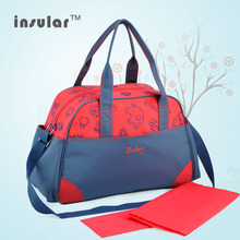 New Arrival Free Shipping Antimicrobial Baby Diaper Bag Retro Microfiber Mommy Bags Antimicrobial Nappy Bags