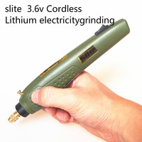 Slite P 500 11A 3 6V Lithium Electricity Rechargeable Engraving Pen Micro Grinder Mini Drill Wireless
