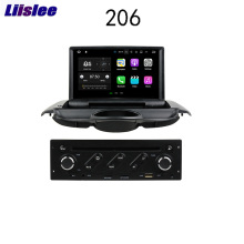 Liislee For Peugeot 206 2004 2017 Android Car Navigation GPS Audio Video Radio HD Touch Screen