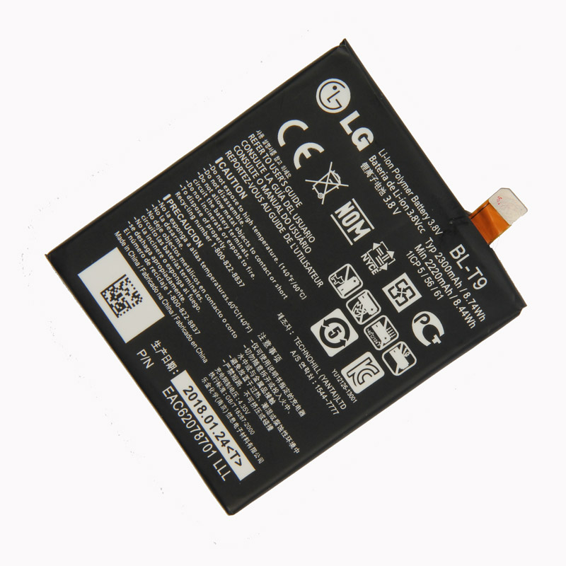 Original <font><b>BL</b></font>-<font><b>T9</b></font> <font><b>Battery</b></font> for LG Google Nexus 5 LG D820 D821 E980 2300mAh image