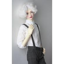 "Bambola BJD Bianco Shirt Outfit Abbigliamento Top Per Il Maschio 1/4 1/3 SD17 70 cm 17 ""24"" alto uso Bambola BJD doll MSD SD DK DZ AOD DD HEDUOEP"
