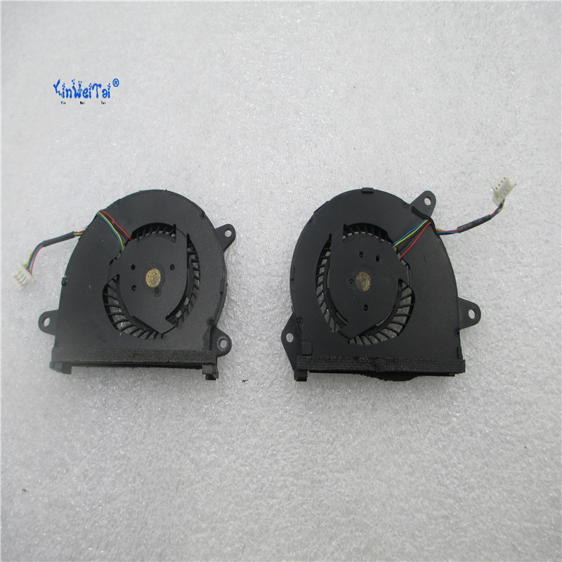 TWO FAN CPU AND GPU FAN laptop CPU cooling fan for ASUS U38 U38DT U38N CPU+GPU cooling fan laptop cooling fan for asus pu500ca fan