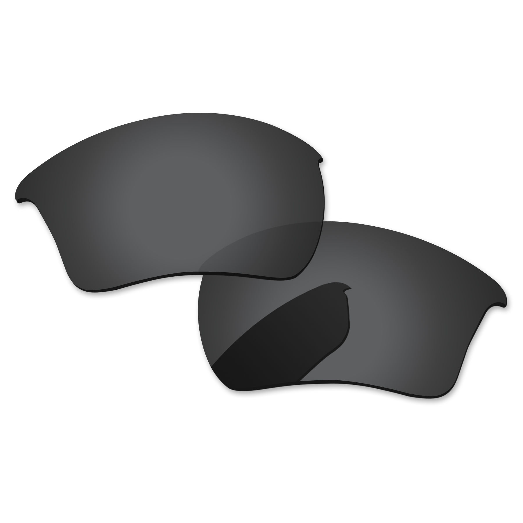 Image 2 - PapaViva Replacement Lenses and Rubber Kit for Authentic Half Jacket 2.0 XL Sunglasses Frame   Multiple Options-in Eyewear Accessories from Apparel Accessories