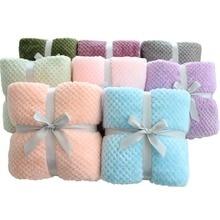 3D пушистое супер мягкое детское постельное белье розовый синий уютное детское одеяло весна малыш постельные принадлежности одеяло коралловый флис пушистое детское одеяло