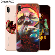 DREAMFOX M155 Wu Tang Killa Bees Hip Hop Soft TPU Silicone Case Cover For Huawei Honor 6A 6C 6X 7A 7C 7S 7X 8 Lite Pro k1x k1x killa bees mesh jersey