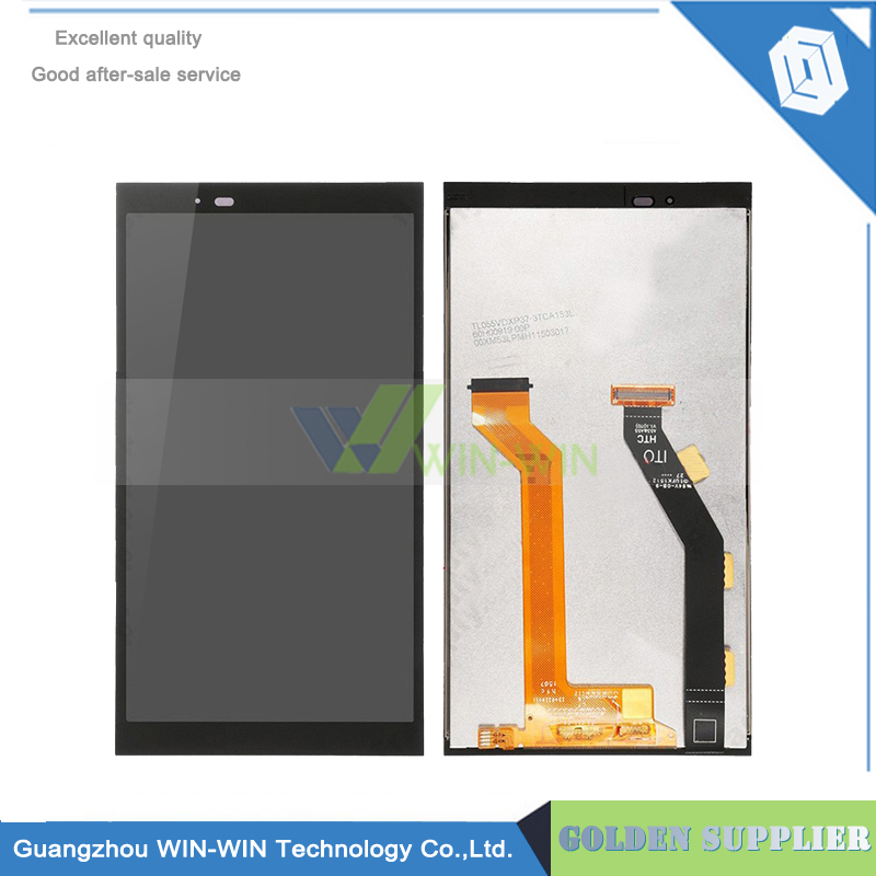 Mobile Phone LCD Screen for HTC One E9 LCD Display with Touch Digitizer Screen Assembly Black Color free shipping lcd screen display touch panel digitizer with frame for htc one m9 black or silver or gold free shipping