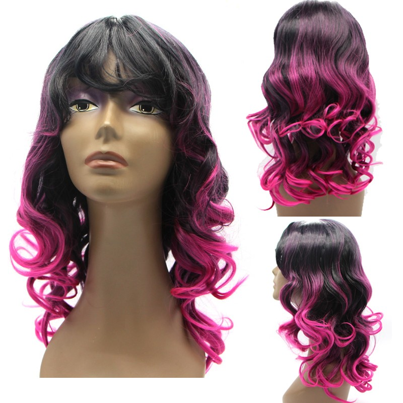 Cosplay Women Synthetic Long Wavy Wig