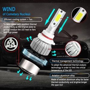 Image 4 - LSlight 자동차 헤드 라이트 LED H4 H7 H11 H1 H8 9005 9006 880 H27 9004 9007 H13 9012 HB2 HB3 HB4 LED 자동 전구 12V 55W 6000K 12000LM