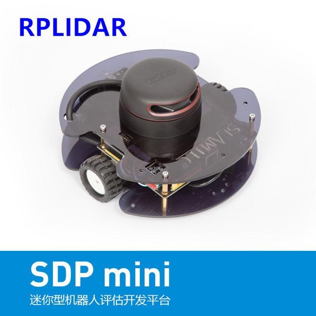 US $659 6 |RPLIDAR lidar SLAMTEC SLAM positioning navigation car SDPmini  robot development platform ROS-in Home Automation Kits from Consumer
