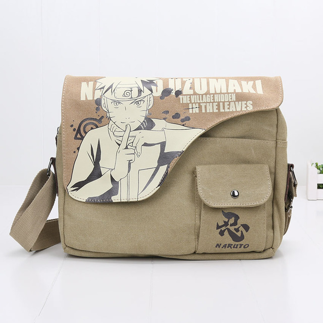 Black Butler Shoulder Bag Canvas Anime Figure Bag
