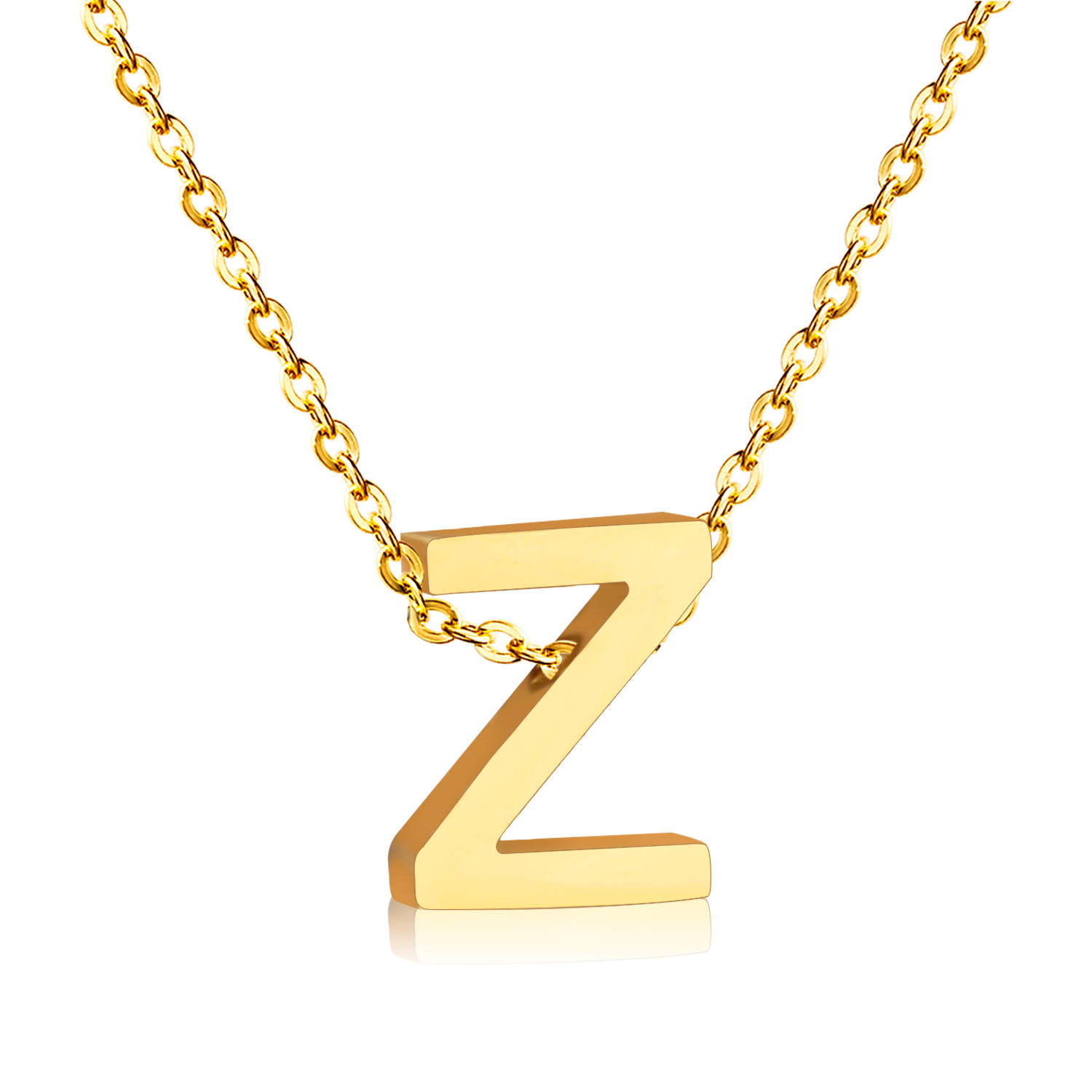 Letter Z Necklace ALP New Letter Z Pendant Necklace