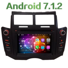 2GB RAM Android 7.1.2 Quad Core 4G DAB+ SWC BT Wifi Multimedia Car DVD Player Stereo Radio GPS Screen for TOYOTA YARIS 2005-2011
