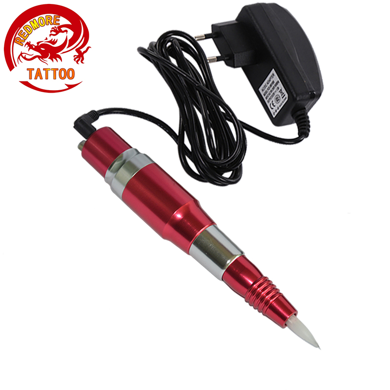 Professional Makeup eyebrow lip pen Permanent Makeup machine red color PMP-703-10 35000r import permanent makeup machine best tattoo makeup eyebrow lips machine pen