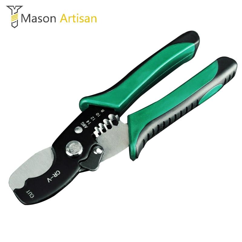 Multi-tool 8 abisolierzange Kabel Schneiden Scissor Abisolieren Zange Abisolieren Werkzeug 1,6-4,0mm Handwerkzeuge Elektriker Werkzeug Zangen
