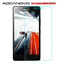 2Pcs/lot Tempered Glass For Lenovo A6000 6010 Screen Protector 9H 2.5D Safety Protective Film On A6010 A6000-l A6000 Plus