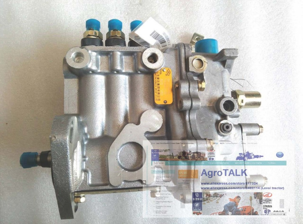 Taishan KM454 tractor with engine FD395T, the high pressure fuel pump jiangdong jd495t ty4102 engine for tractor like luzhong series the high pressure fuel pump x4bq85y041